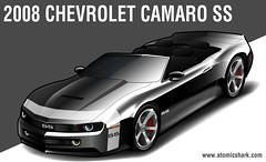 2008 Chevy Camaro SS rendering (atomicshark) Tags: auto hot art chevrolet photoshop design sketch automobile gm ss fast convertible camaro chevy future illustrator concept 2008 2009 v8 rendering musclecar chevroletcamaro 2010 industrialdesign supersport ponycar ls2 chevycamaro atomicshark 400hp generalmotor gmfyi