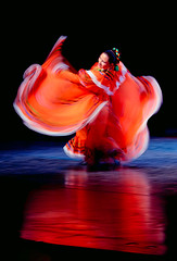 Tangerine Ballet (disneymike) Tags: california motion blur catchycolors dance nikon riverside stage d2x performance competition dancer nikkor mirrorsofsociety ucr universityofcalifornia balletfolklorico 70200mmf28gvr itsonginvite itsong–mirrors–northamerica universityofcaliforniariverside nikonstunninggallery itsong–nikond2x abigfave fiveflickrfavs alemdagqualityonlyclub