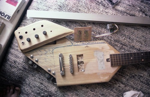 Guitar synth modifications