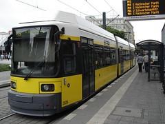 Tram Berlin Alexanderplatz
