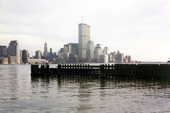 World Trade Center: View from Hoboken