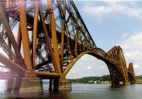 Forth Rail Bridge (opened 1890)