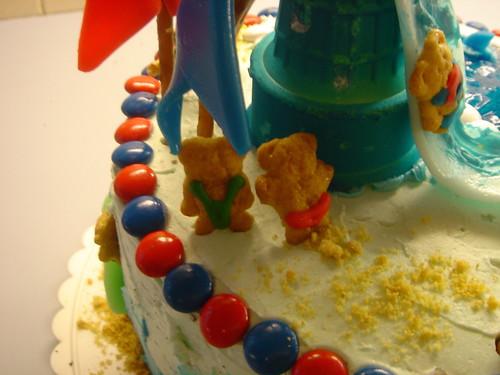 party cake thong swimwear teddygrahms womansday waterparkcake