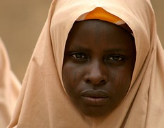 deep in my heart (janchan) Tags: africa portrait people woman face women veiled retrato muslim hijab documentary tribal marks nigeria donne mujeres ritratto velo reportage fulani theface hausa carrymehome superbmasterpiece whitetaraproductions obstetricfistula tribalmarks