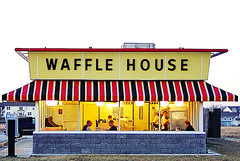 Dawn at Waffle House (FotoEdge) Tags: coffee booth java cafe order counter joe wafflehouse tip waitress allnight