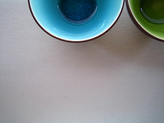 i wish the green one was pink! (bitzi  ion-bogdan dumitrescu) Tags: blue 2 wallpaper two green kitchen bowl crack bowls cracked bitzi ibdp findgetty ibdpro wwwibdpro ionbogdandumitrescuphotography