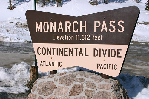 Monarch Pass Sign