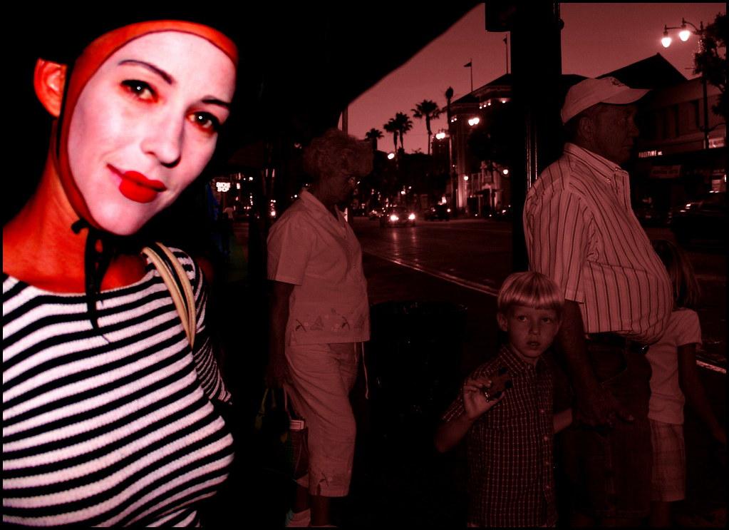 Amy On The Boulevard