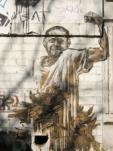 Прикольные графитти