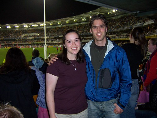 Me and Martin at The Gabba