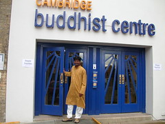 Cambridge Buddhist Centre entrance 2