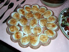 The Devil you say! (.Larry Page) Tags: red yellow nikon egg huevos eggs larrypage iatethis oeuf deviledeggs e885
