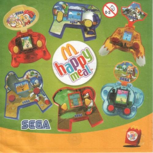 Juegos de Sonic en McDonalds