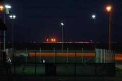 Flares at night (Shemya) Tags: kazakhstan  tengiz shanyrak