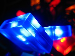 cuboid lights (GatheringZero) Tags: blue red manchester lights corners fairholme electriclights
