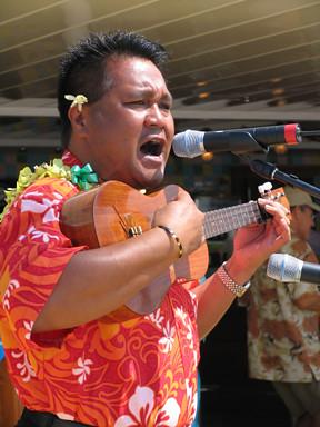 This is Aloha Joe the Ukulele Kid
