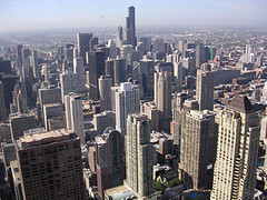 Chicago (digital_freak) Tags: 2005 chicago building tower skyline searstower hancock johnhancockcenter digitalfreak