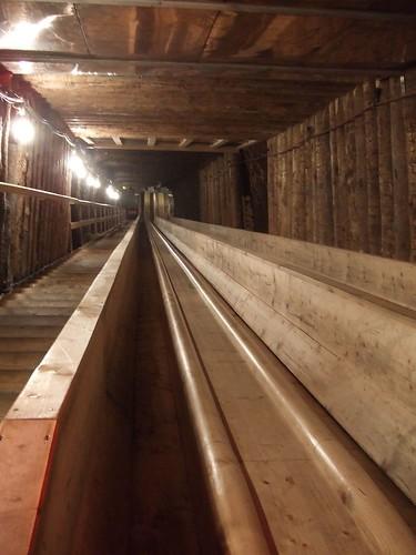 參觀哈斯達特鹽礦坑