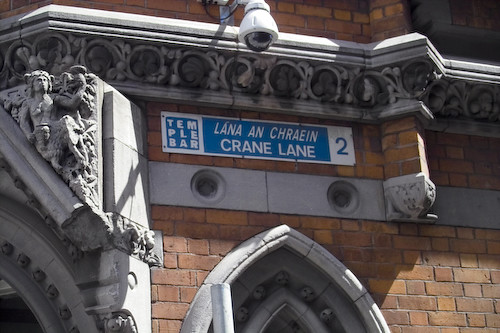 Crane Lane in Templebar