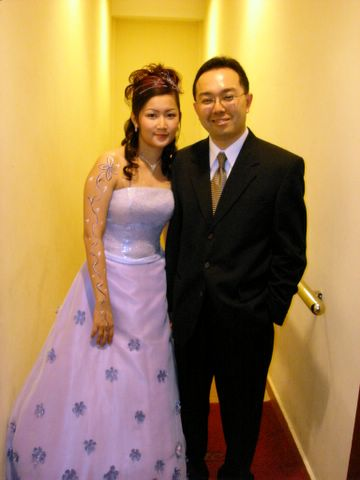 Sister's wedding - bride and groom