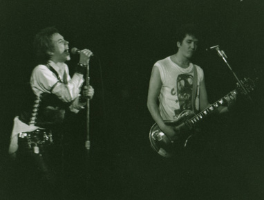 Johnny Rotten & Steve Jones