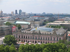 Deutsches Historisches Museum And Potsdamer Platz (Ryan Hadley) Tags: berlin church skyline germany europe cathedral sonycentre potsdamerplatz berlinerdom deutscheshistorischesmuseum humboldtuniversity bebelplatz berlinskyline