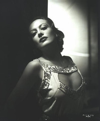 Joan Crawford. (carbonated) Tags: 1930s glamour fancy moviestar risque neckline ghurrell