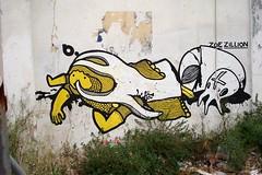 b. & ZOE ZILLION (server pics) Tags: street black art yellow jaune zoe graffiti calle arte kunst athens via greece grecia psiri atenas writers writer rua strase grce  pintura  grafite athen griekenland  athnes   atene      zillion    athensstreetart         artedelacalledeatenas serverpics