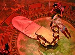 Cirque Du Soleil - Dralion - Jumping thru hoops (Pat Rioux) Tags: show circus chinese performance diving acrobatics acrobat hoops cirquedusoleil dralion