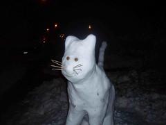 Snow Cat von sandcastlematt