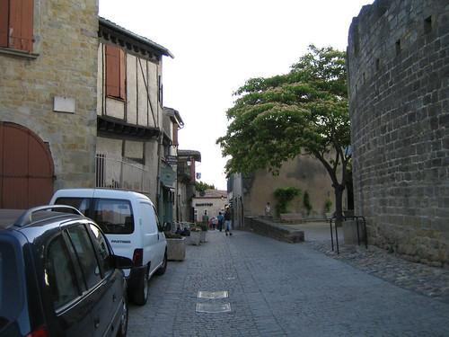 Calles de Carcasona Foto