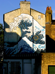 The Great Wave of Kanagawa - Camberwell stylee (Yersinia) Tags: uk greatbritain england london public geotagged mural europe unitedkingdom britain eu gb safe hokusai kanagawa southlondon lambeth camberwell se5 muralsandmosaics faved greatwave coldharbourlane londonset londonbylondoners ccnc photographical yersinia londonpool casioexz110 guessnot geo:lat=51470619 geo:lon=0094097 dominicswordsdidthis altsarflunnunflickrcliche southlondonpool wallsartandgraffiti cycleride170706 southlondonset kiloview decafaved londonboroughcollection