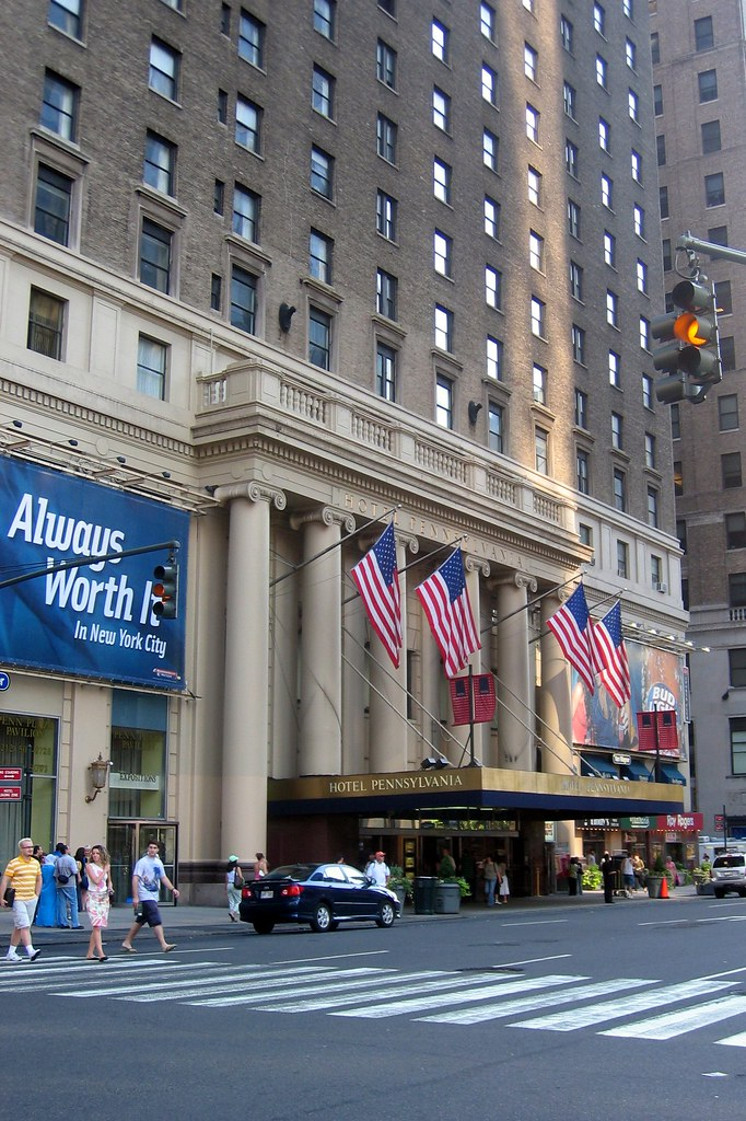 NYC: Hotel Pennsylvania
