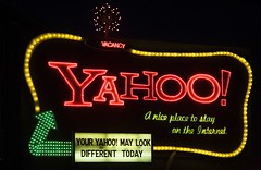 Your Yahoo May Look Different Today (Thomas Hawk) Tags: red look sign night yahoo nice neon different place 10 internet may illuminated your today vacancy stay fav10 sothisisamerica tesstingnipsa