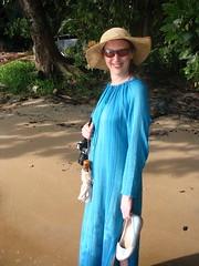 English woman abroad (Travelling Runes) Tags: beach tioman gwyneth