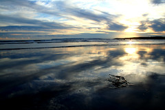 Seaside (Markus Moning) Tags: sunset sea sky sun seascape france reflection beach water set clouds strand wow skyscape seaside sand frankreich brittany meer wasser sonnenuntergang shoreline himmel wolken bretagne breizh shore algae sonne canoneos350d alga reflektion untergang algen bzh moning kooks pentrez cotcpersonalfavorite topphotoblog markusmoning newphotographer