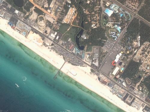Panama City Beach, Florida - Aerial Photo - 2005