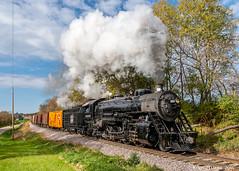 Crossing the Rubicon (kdmadore) Tags: steamlocomotive steam soo1003 soo train railroad wisconsinsouthern wsor mikado sooline steamengine