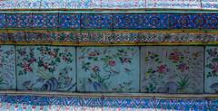 2016_04-Bangkok-M00117 (trailbeyond) Tags: architecture asia bangkok blue building location outdoors pattern religiousbuilding temple templeoftheemeraldbuddha texture thailand thegrandpalace wall watphrakaew
