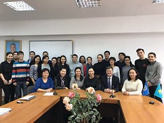 "Conference ""Globalization and Challenges of Integration"" at the Al Farabi Kazakh National University <a style=""margin-left:10px; font-size:0.8em;"" href=""https://www.flickr.com/photos/89847229@N08/31550066205/"" target=""_blank"">@flickr</a>"