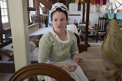 Colonial Williamsburg Va. Virginia Weaving, Spinning Dyeing