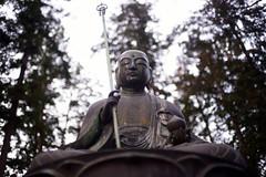 Three Buddhist temple (haru__q) Tags: statue bronze temple three ar buddhist sony konica a7 hexanon