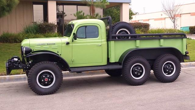 6x6 truck dodge powerwagon
