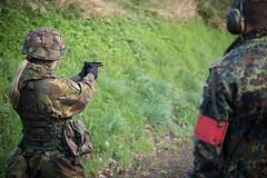 Green Days 2014 (1 German Netherlands Corps) Tags: green training fire rifle days medical weapon pistol shooting erik firedepartment colt munster glock morren 1gnc