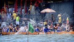Dragon Boat Race Day 2015 in Tai O , Lantau Island , Hong Kong (Ben Molloy Photography) Tags: china race island hongkong boat team day dragon ben chinese paddle molloy lantau taio 2015 benmolloy benmolloyphotography benmolloyhongkong