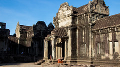 2015-05-23 Cambodia Day 4, Ankor Wat, Siem Reap (Qsimple, Memories For The Future Photography) Tags: old travel building tower art heritage tourism monument nature stone wall architecture asian religious temple design artwork ancient ruins worship asia cambodia cambodian khmer place natural outdoor antique buddhist traditional famous religion ruin culture buddhism places landmark structure historic sacred thom civilization siemreap angkor wat hinduism archeology religions sculptures bayon prohm 2015 prasat camera:make=canon exif:make=canon exif:lens=ef24105mmf4lisusm geo:state=siemreap exif:focallength=28mm exif:aperture=ƒ56 qsimple geo:country=cambodia camera:model=canoneos600d exif:model=canoneos600d exif:isospeed=100 geo:city=krongsiemreap geo:location=sangkatnokorthum geo:lat=1341271125 geo:lon=10386686437