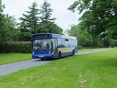 DW Coaches X614JCS Brackenfield Green (Guy Arab UF) Tags: west bus green buses scotland derbyshire surrey western alexander dennis dw 414 dart coaches stagecoach independents slf hants alx200 brackenfield 33444 x614jcs