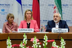 EU High Representative Mogherini and Iranian Foreign Minister Zarif Are Pictured During Final Plenary of Iran Nuclear Negotiations With Iranian Officials (U.S. Department of State) Tags: vienna austria iran eu johnkerry europeanunion javadzarif federicamogherini irantalks