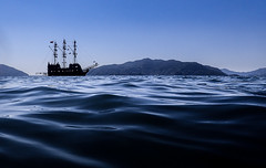Blue Marmaris. (CWhatPhotos) Tags: pictures camera trip blue sea sky water digital that boats photography boat skies ship foto image artistic pics pirates picture pic olympus images have photographs photograph fotos pirate waters blueskies tough which contain waterproof onthe tg3 aegeon cwhatphotos
