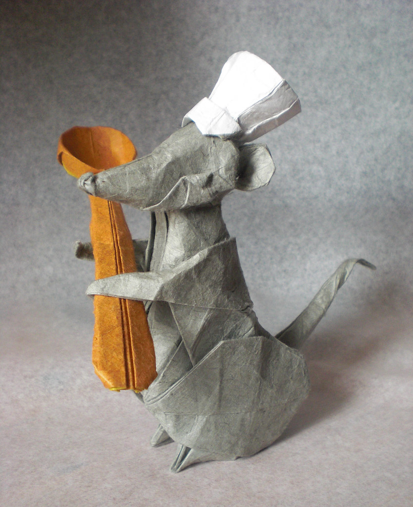 The worlds best photos of chef and origami flickr hive mind chef rat mrmicawer tags kitchen rat origami cook spoon cocina chef papel papiroflexia jeuxipadfo Images